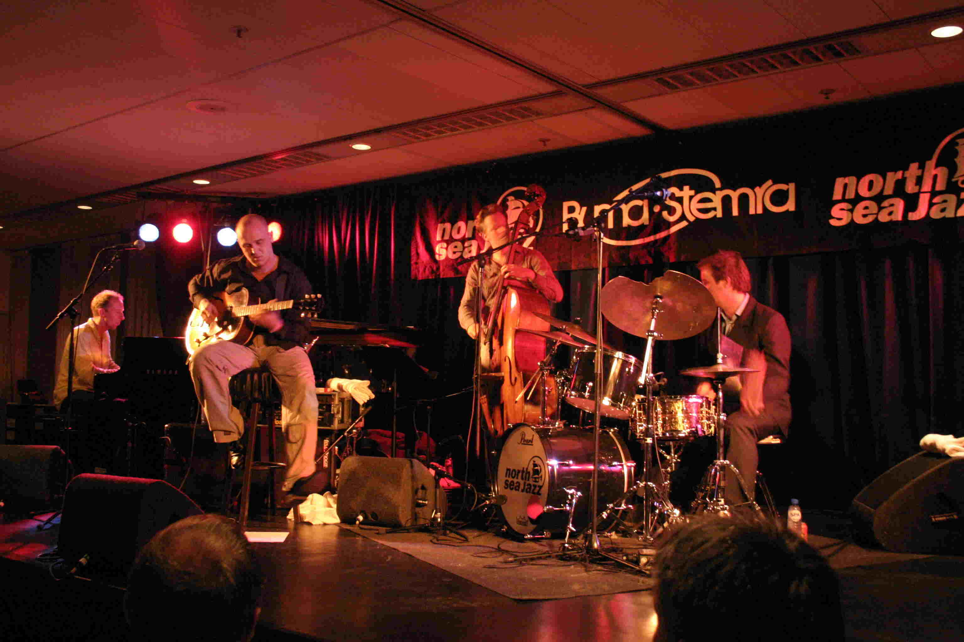 Martijn van Iterson 4-tet North Sea Jazz Festival 2004